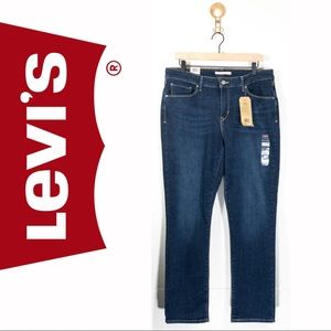 NWT Levi's Classic Mid-Rise Skinny Jeans 16